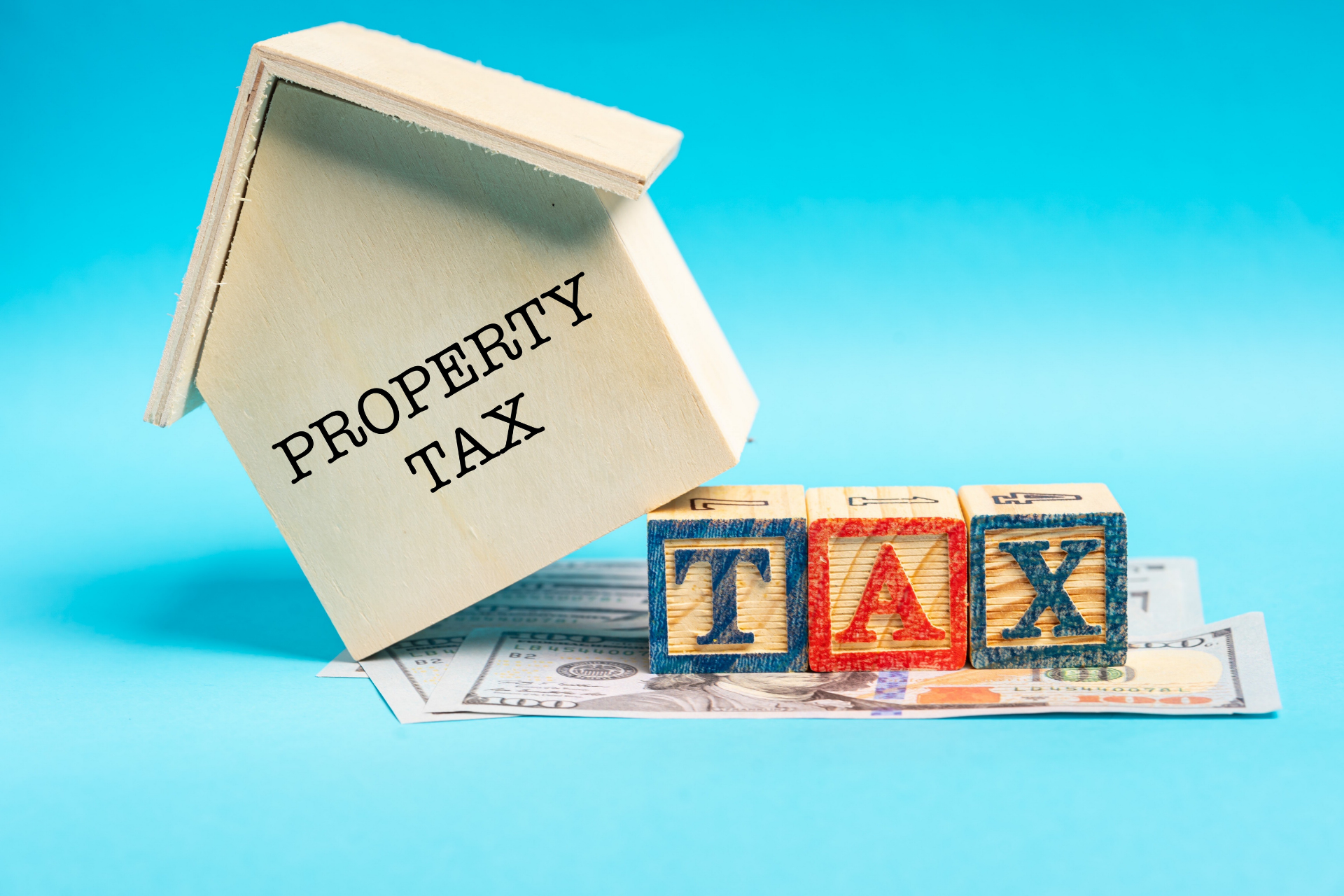 property tax small house on money